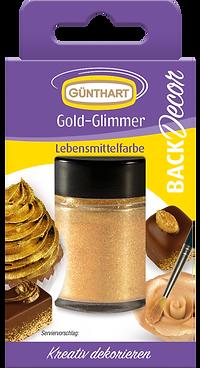 BackDecor gold gilmmer puder