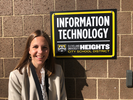 A Week In The Life of Dr. Christy Bauer, Director of IT, CH-UH City School District