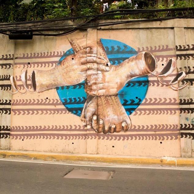 Gayaman Street Art Social Experiment