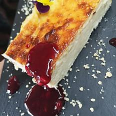 Tarta de queso de cabra payoya