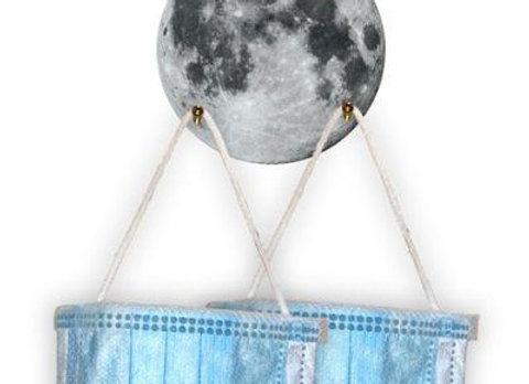 Moon Ornamental Mask Holder
