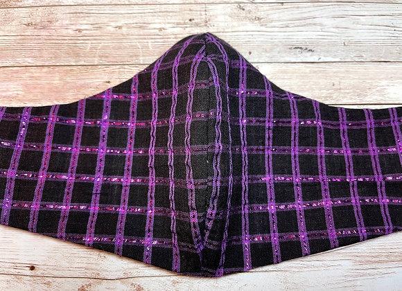 Purple Checkered Glam