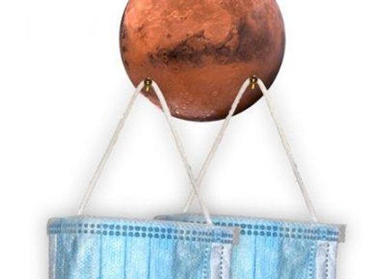 Mars Ornamental Mask Holder