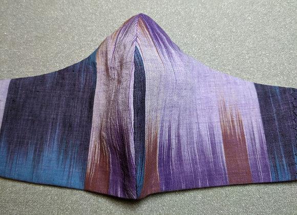 Blue, purple ombre tones Face mask