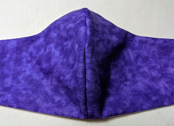 Purple mist faded violet face mask
