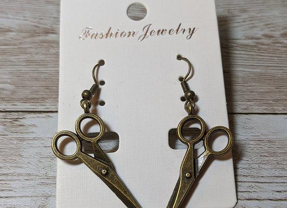 Bronze scissors