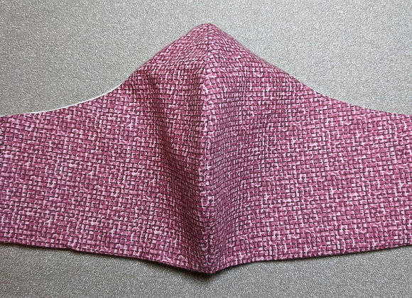 Woven Rose Face Mask