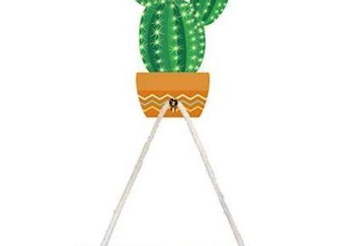 Cactus Ornamental Mask Holder