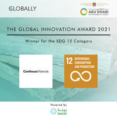 Continuus Materials - SDG 12 Winner - GI