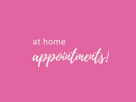At Home Appointment