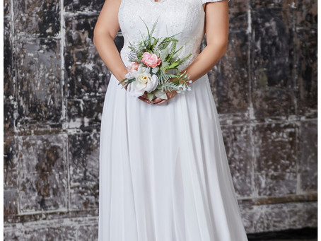 Bridal Gown Shopping Guide for Curvy Brides