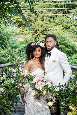 Stylish Bohemian Wedding Inspiration