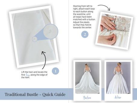 Wedding Dress Bustles