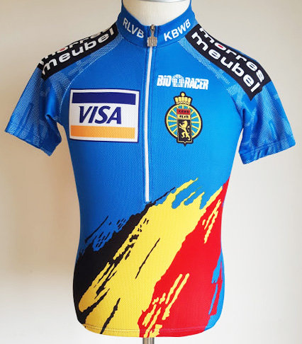 Maillot cycliste Belgique
