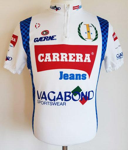 Maillot cycliste Carrera Vagabond 1991