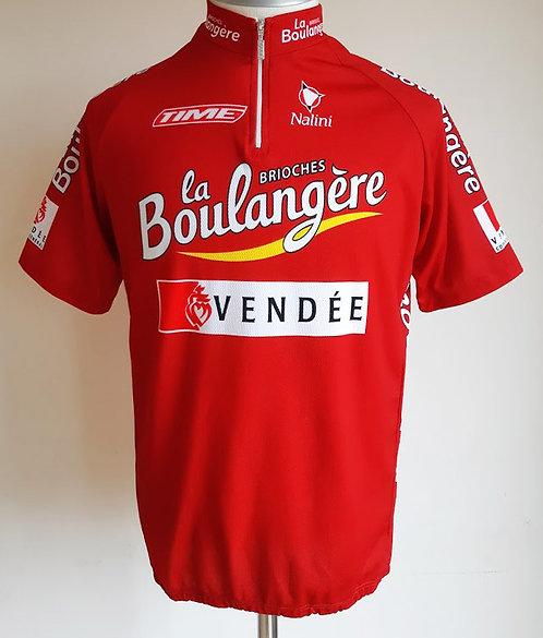 Maillot cycliste équipe Brioches La Boulangère