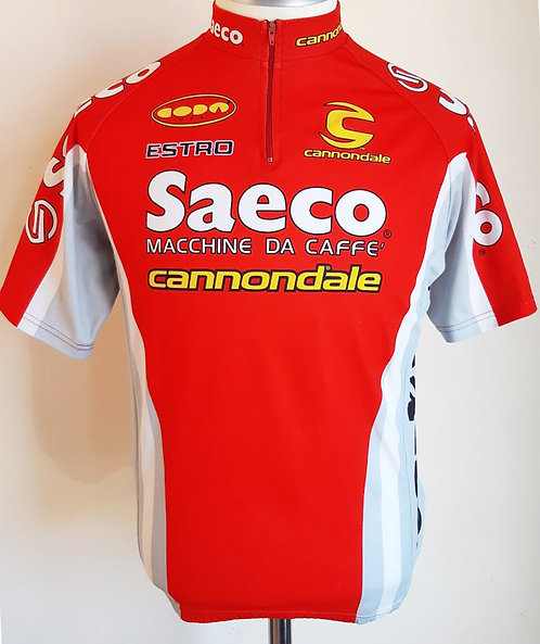 Maillot cycliste Saeco Cannondale