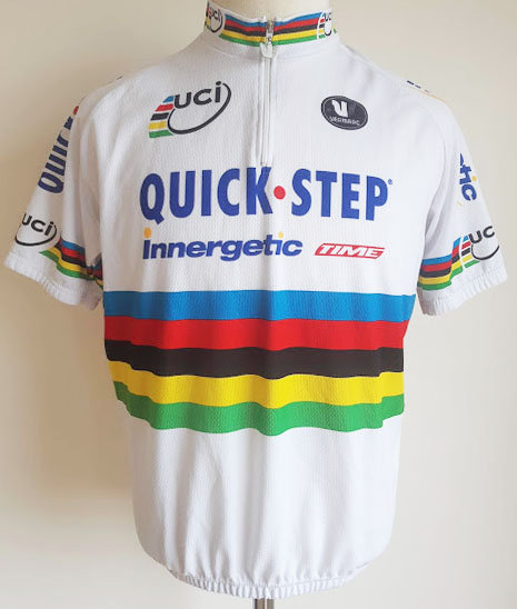Maillot cycliste Quick Step Champion du Monde
