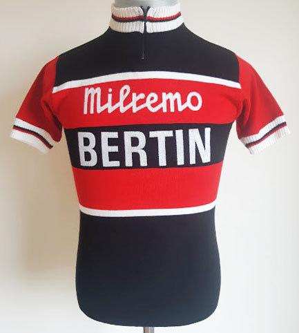 Maillot cycliste vintage Milremo Bertin