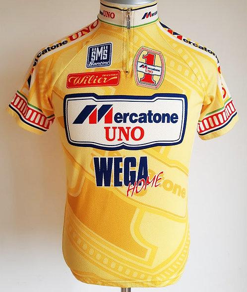 Maillot cycliste Mercatone Uno Wega