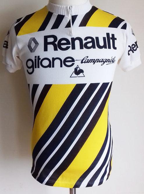 Maillot cycliste Renault Gitane Campagnolo