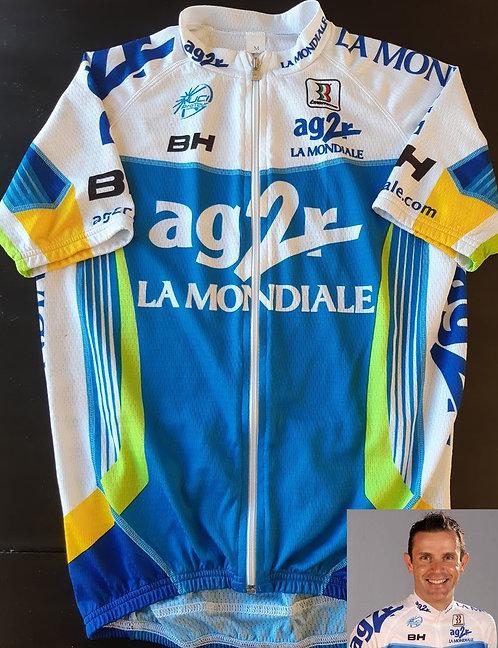 Maillot cycliste AG2R La Mondiale - Stéphane Goubert