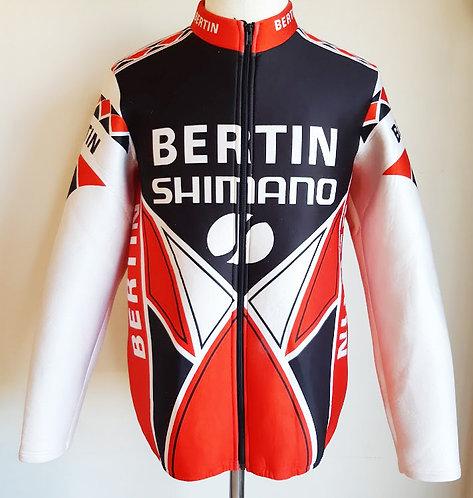 Veste cycliste vintage Bertin Shimano