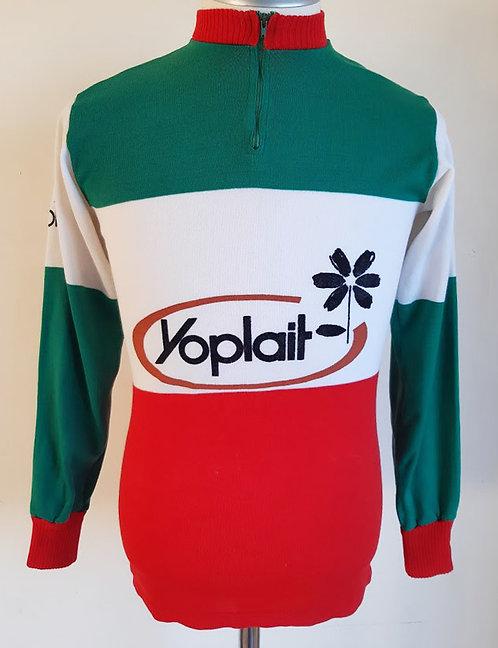 Maillot cycliste vintage Yoplait