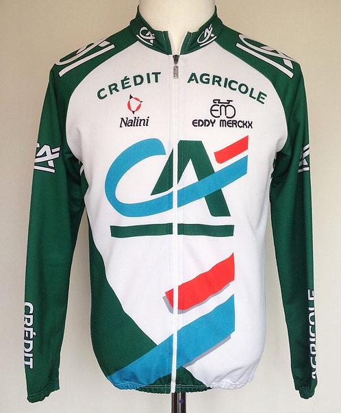 Veste cycliste équipe Crédit Agricole