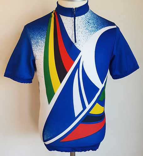 Maillot cycliste vintage 80's