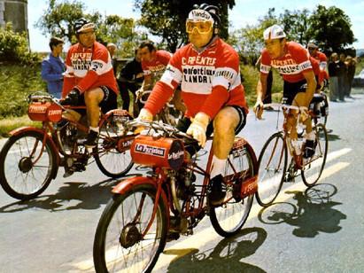 Les diables rouges de l'équipe Flandria.