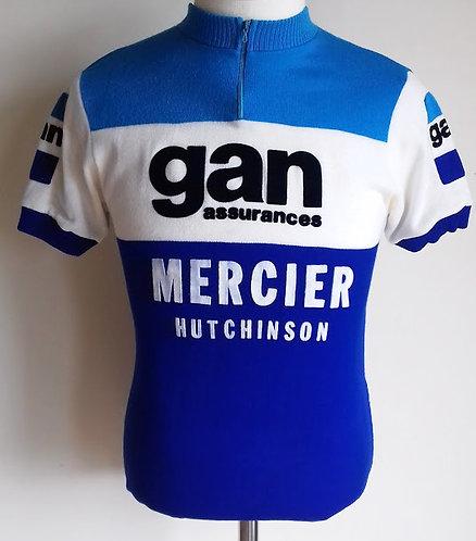 Maillot cycliste Gan Mercier Hutchinson