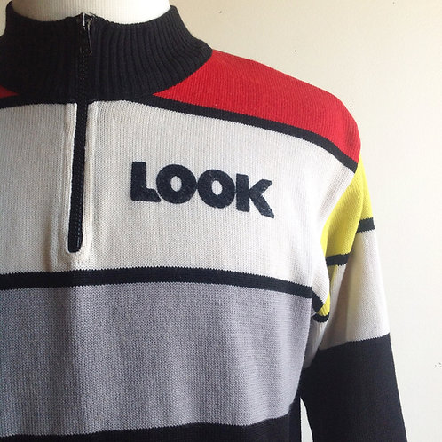 Pull cycliste vintage Look