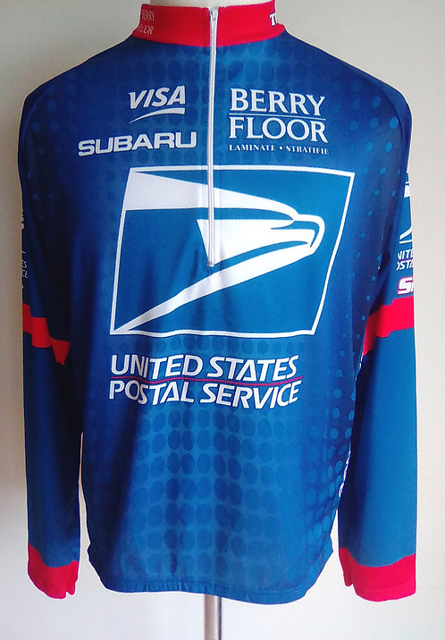 Maillot cycliste US Postal Service presented by Berry Floor