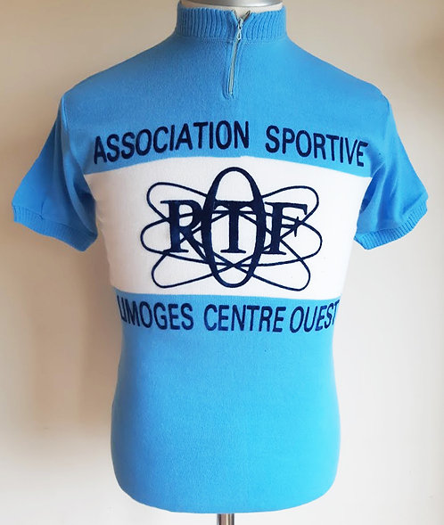 Maillot cycliste vintage Asso. Sportive Limoges