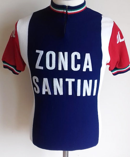 Maillot cycliste Zonca Santini Giro 1976