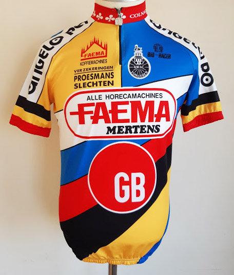 Maillot cycliste GB Faema Mertens