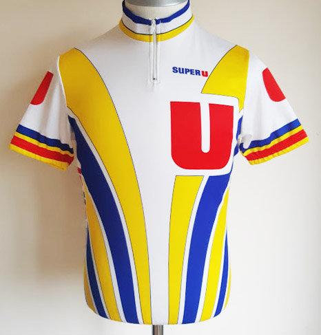 Maillot cycliste équipe Super U