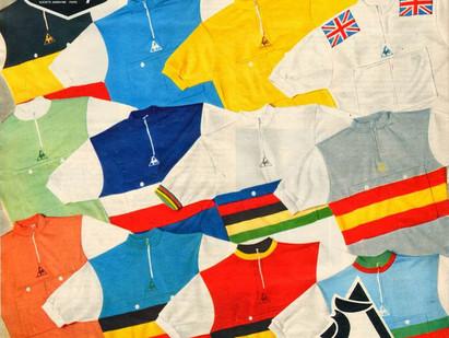Les équipes nationales du Tour de France