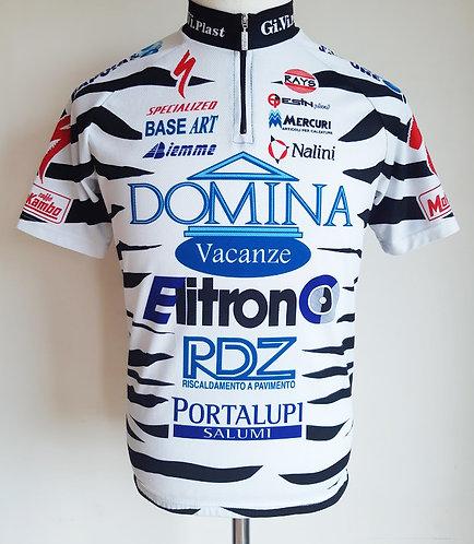 Maillot cycliste équipe Domina Vacanze Elitron