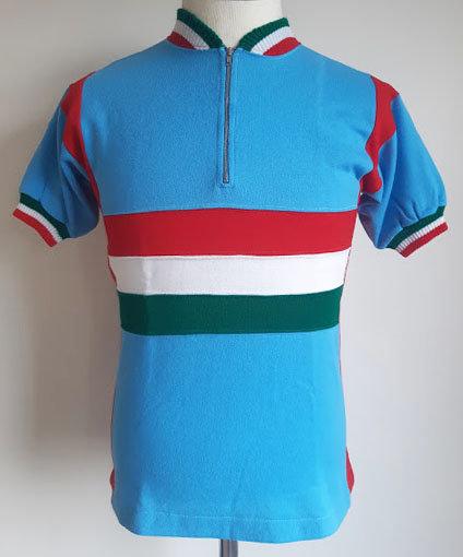 Maillot cycliste vintage équipe d'Italie