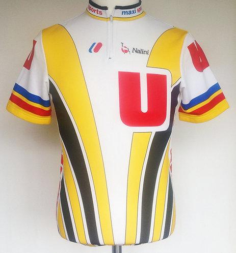 Maillot cycliste Système U Tour de France 1988