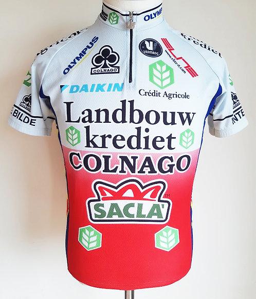 Maillot cycliste Landbouw Krediet Colnago Alken Maes Daikin