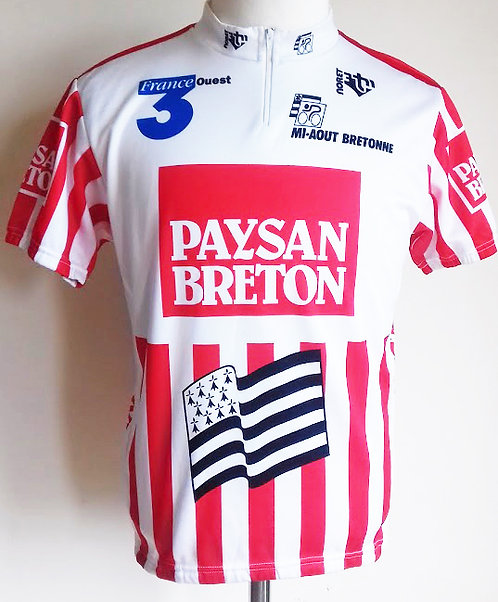 Maillot cycliste Mi-Août Bretonne