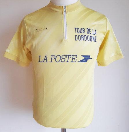 Maillot cycliste vintage Tour de la Dordogne