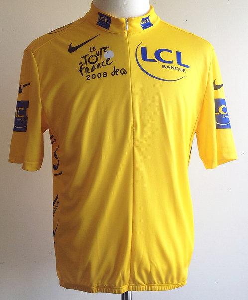 Maillot jaune Tour de France 2008