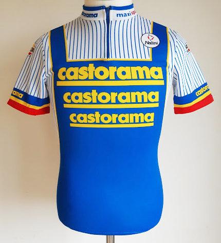 Maillot cycliste Castorama