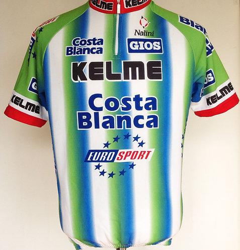 Maillot cycliste Kelme Costa Blanca