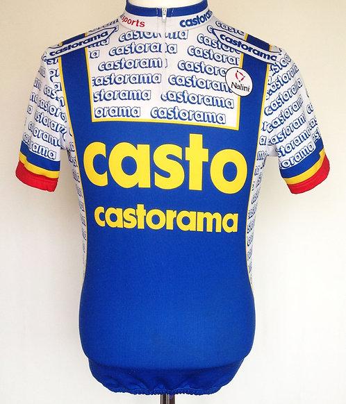 Maillot cycliste Castorama 1993