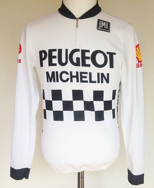 Maillot cycliste Peugeot Shell Tour de France 1985